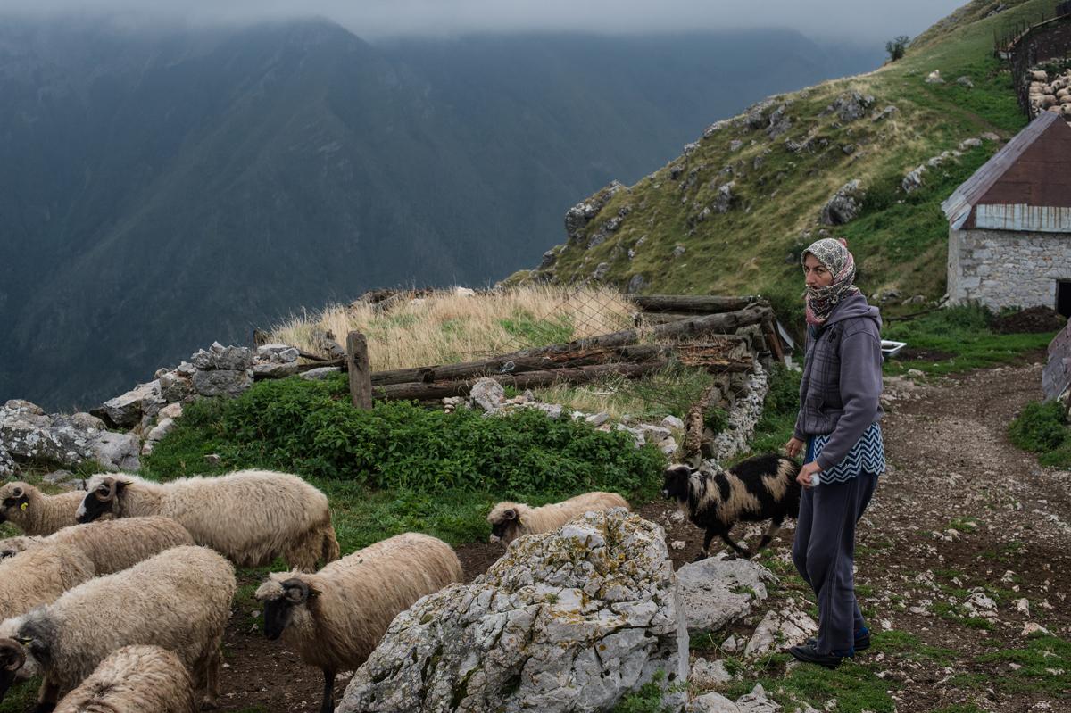 Lukomir, Bosnia-Erzegovina.